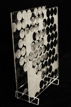 Michael Kolster Paired Plates stacked ambrotypes