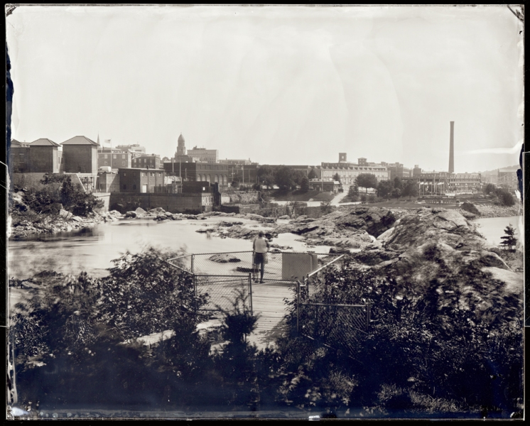 Michael Kolster Androscoggin River (ME) ambrotype