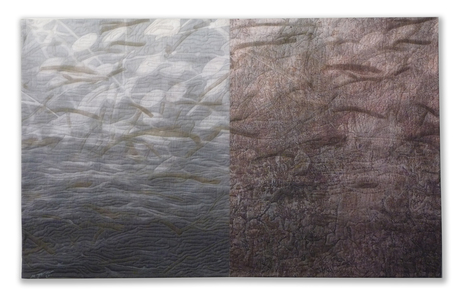 Michael James Studio Quilts Meditations cotton & dyes