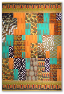 Michael James Studio Quilts Selected work 2000 - 2010 mixed media; machine-sewn