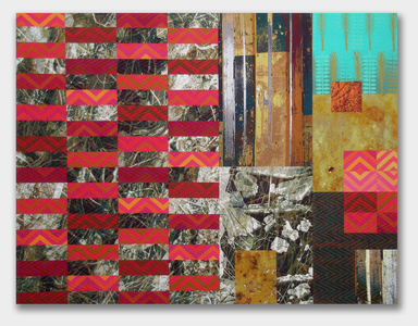 Michael James Studio Quilts Selected work 2000 - 2010 cotton & dyes; machine-sewn