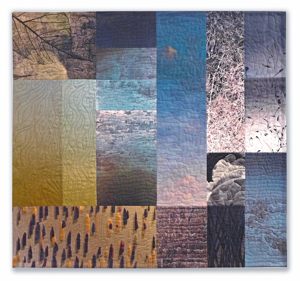 Michael James Studio Quilts Ambiguity & Enigma cotton & dyes
