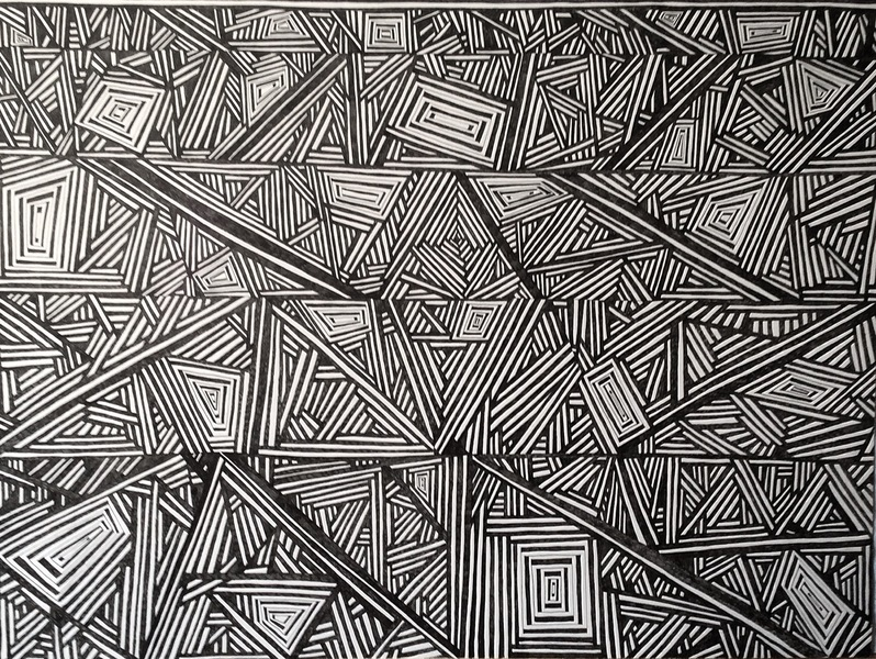 ABSTRACT ILLUSTRATIONS Maze