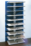 FURNITURE BASED plywood, Plexiglas, paper, aluminum frame