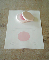 2011 - Study of pink porcelain 50/50