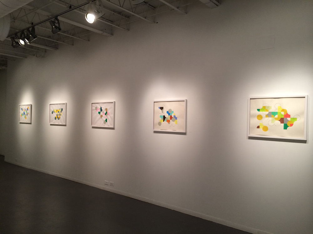 "Mie Kongo 2014 - ""Circle in a square"" at Hyde Park Art Center, Chicago, IL"
