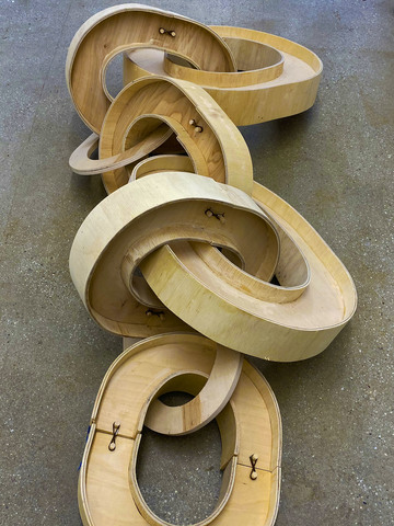 MIGGY BUCK Work Wood, Hairbands