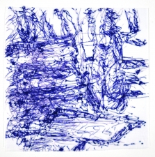Mimi Oritsky Drawings  ink on napkin