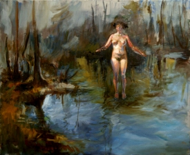Mira Gerard Selected early work oil on linen