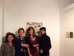 MAPSpace 01/24/15  L/inked Closing Reception