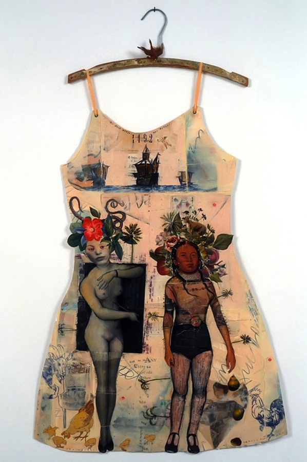 PAPER DRESSES: Women's Narratives Arawak Woman