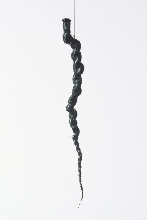 MO  KELMAN Things Still Here series raffia, cotton cord, beeswax