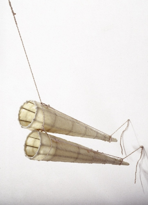 MO  KELMAN Things Still Here series beeswax, wire, solder, paper