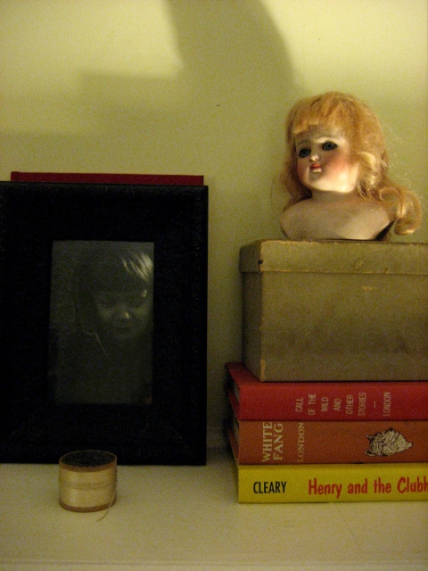 photographs:  domestic museum jack/doll