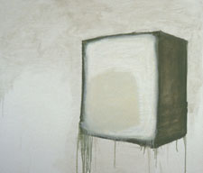 MOLLY RAUSCH Objects Oil on plywood