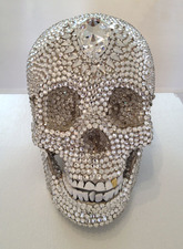 MOLLY RAUSCH The Museum of Controversial Art 4000+ Swarovski crystals and 24K gold leaf on resin