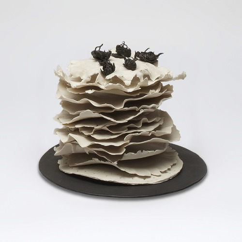 Monica Banks Big and Small Moments Glazed and Unglazed English Porcelain with India Ink