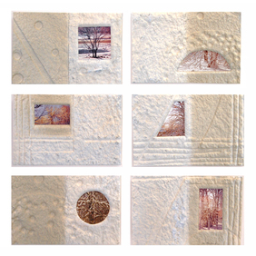 Marjorie Tomchuk  Cards & Small Prints print on hand made paper with collaged photo