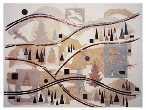 Marjorie Tomchuk Collage Mixed papers