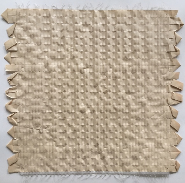 NANCY BRETT Weaving Paper and monofilament