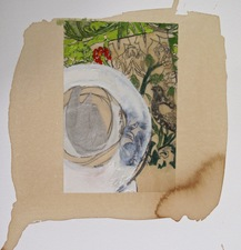 Nancy Ferro Works on Paper Mixed media: stain, pencil, beeswax