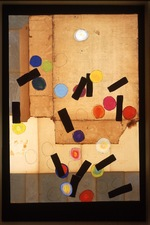 Nancy Ferro Works on wood and canvas Papers, cardboard box top, graphite, crayon, and c. pencil on wood and canvas