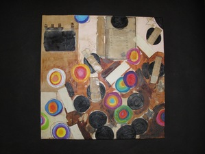 Nancy Ferro Works on wood and canvas Papers, book covers, graphite, c. pencil, acrylic, and beeswax on canvas and wood