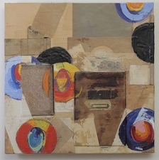 Nancy Ferro New Work Mixed:papers, book covers, brass, graphite, colored pencil, crayon, beexwax