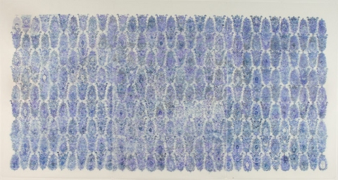 Nancy Friedemann-Sánchez BLUE DRAWINGS 2003