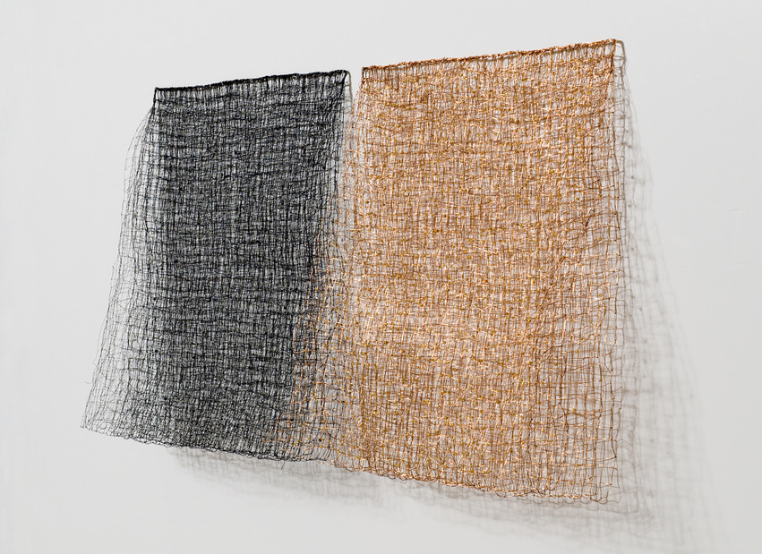 Nancy Koenigsberg Wall pieces Coated copper wire