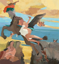 Nancy McCarthy TIEPOLO SERIES oil on canvas