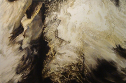 Nancy McTague-Stock Conceptually Based Paintings and Drawings Oil on Canvas