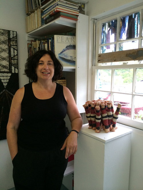 Nancy NATALE Material Consequences, Castle Hill Center for the Arts, Truro, Mass, June 2014
