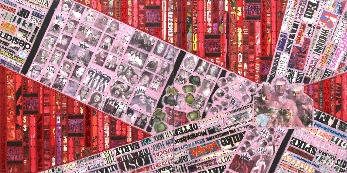 Archive - Sold Work Cabbages & Queens: Disco Version (diptych)