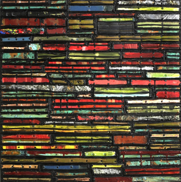 Archive - Sold Work Divided Stripes