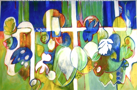 Nancy Reinker Paintings acrylic on canvas