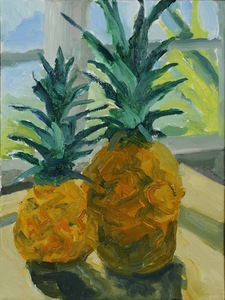 Nancy Tart Still Lifes Oil on Canvas