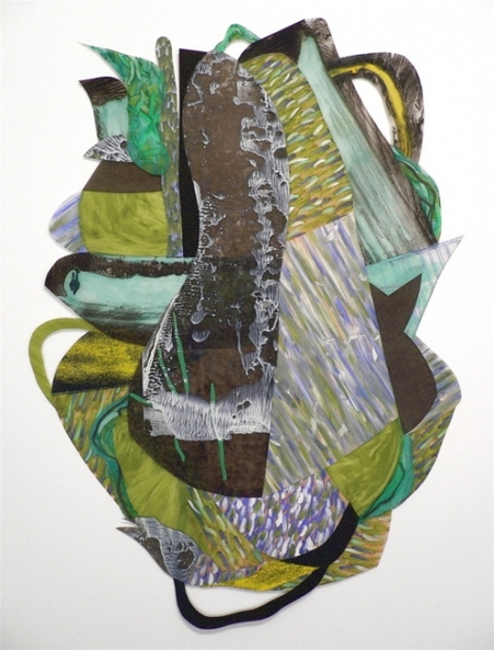 Nanette Carter  2006 - 2012 oils on mylar
