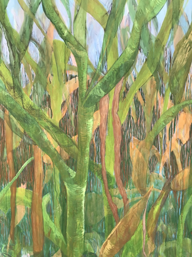 Paintings Corn Field