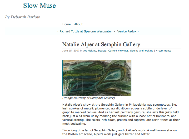 Natalie Alper Reviews