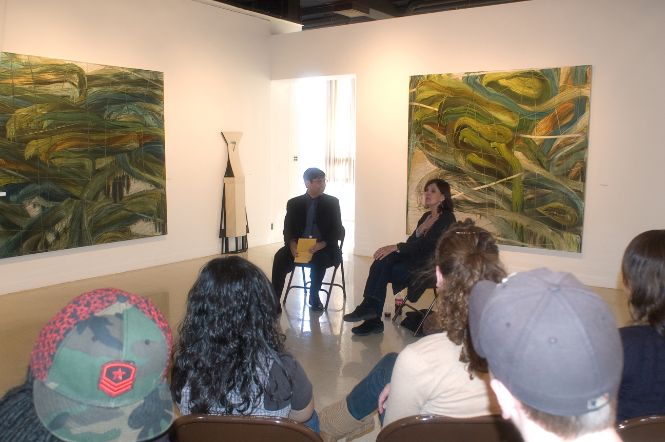 Exhibitions Alper & Poet David Shapiro,  2008 Conversation