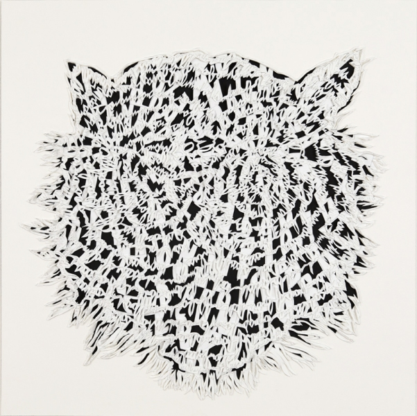 Natasha Bowdoin Jungle Book Pencil on cut paper