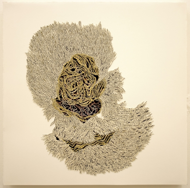 Natasha Bowdoin Selected Works Pencil and gouache on cut paper