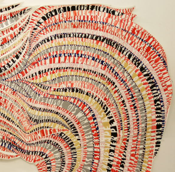 Natasha Bowdoin Selected Works Gouache on cut paper