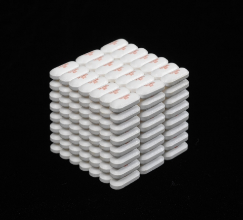 Nathaniel Price Suicide Cube I Tylenol tablets, glue