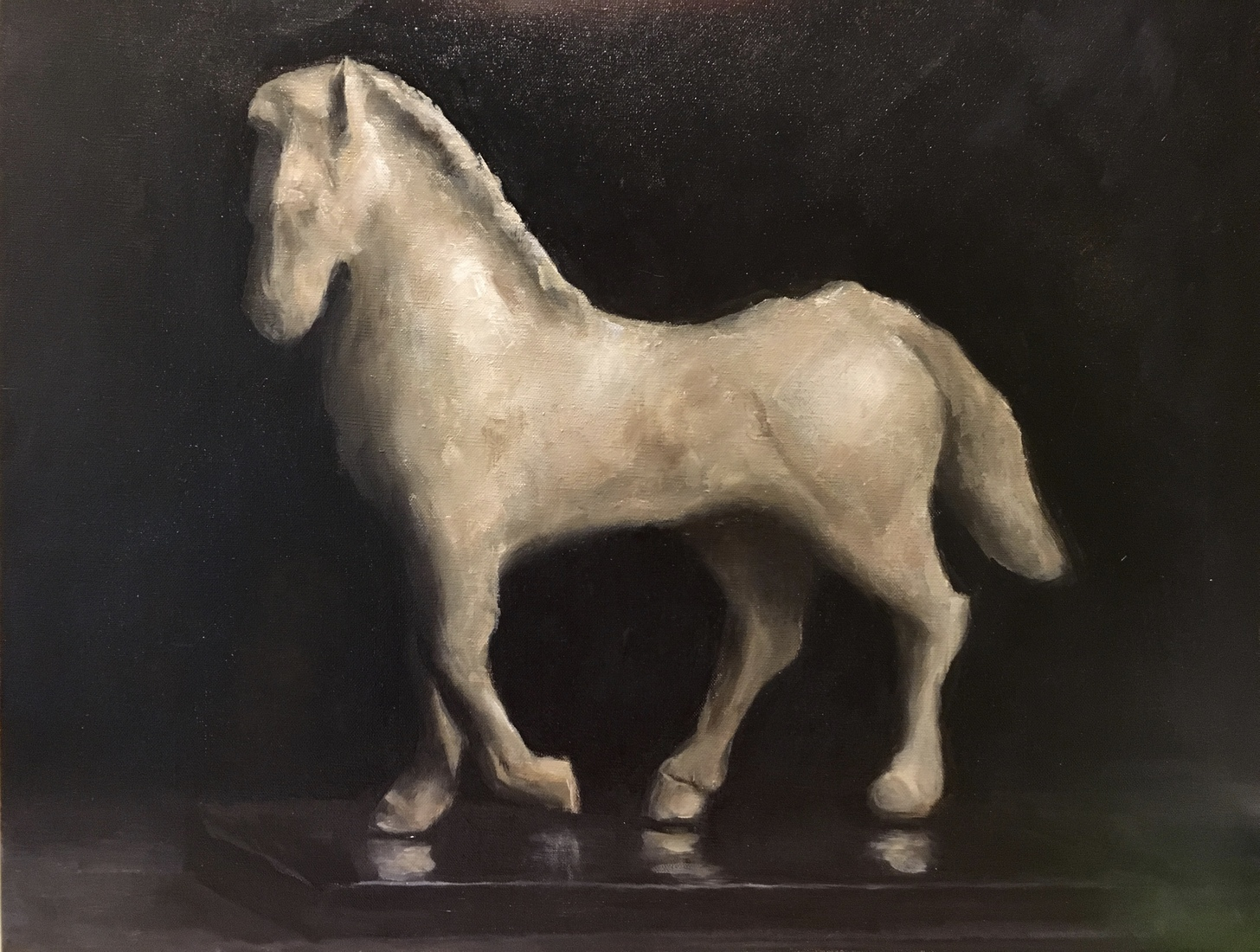 Anne Osso Porco Horse Sculpture
