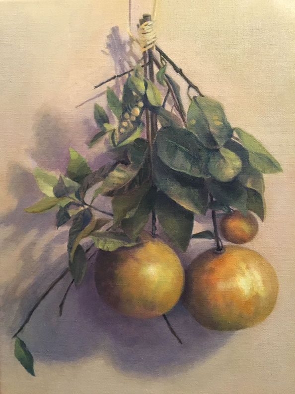 Madeline Long Dangling Grapefruit