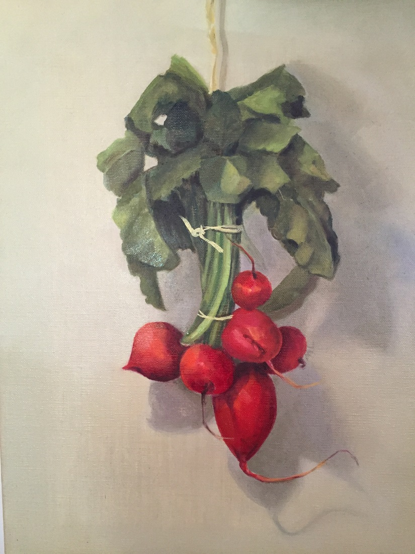 Madeline Long Dangling Radishes