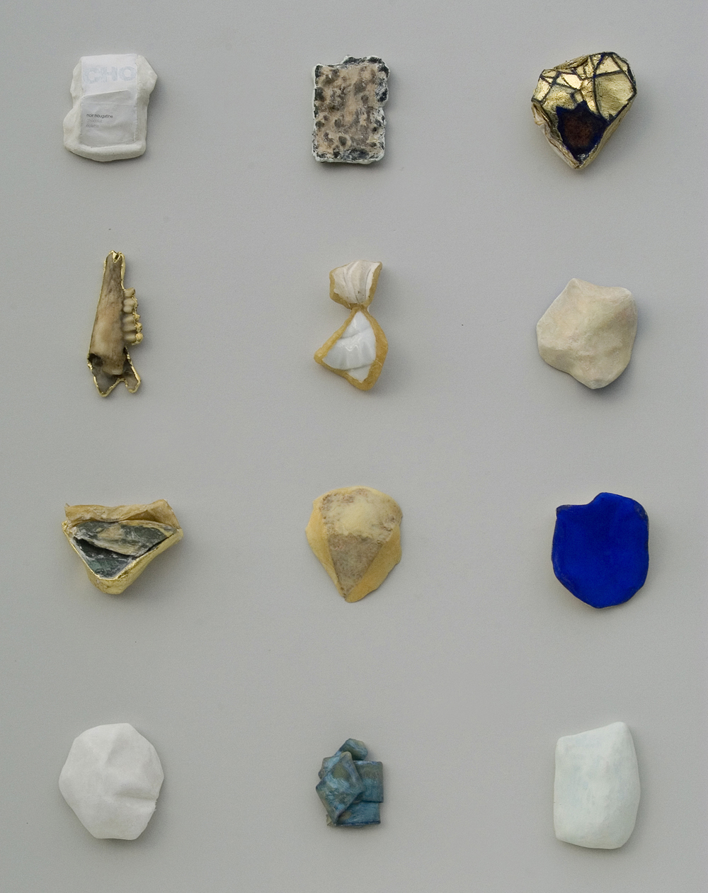 Nicola Ginzel  Rearranging the Bones, Rearranging the Flesh - 2007-14