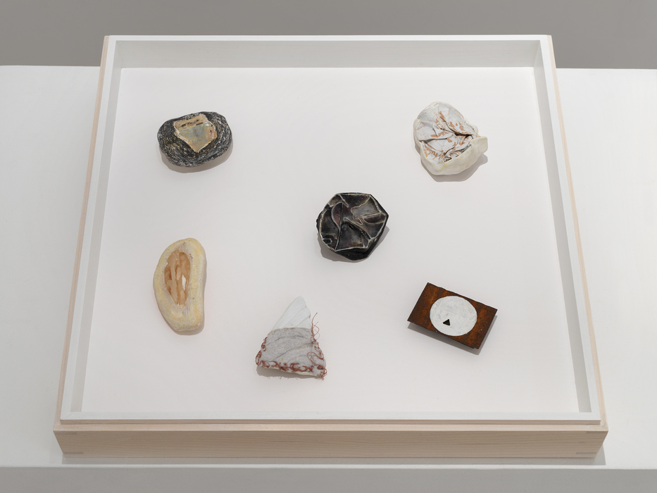 "Nicola Ginzel  Selected Transformed Objects Box is 15"" x 15"" x 1.75"""